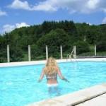 Een luxe Tuin zwembad