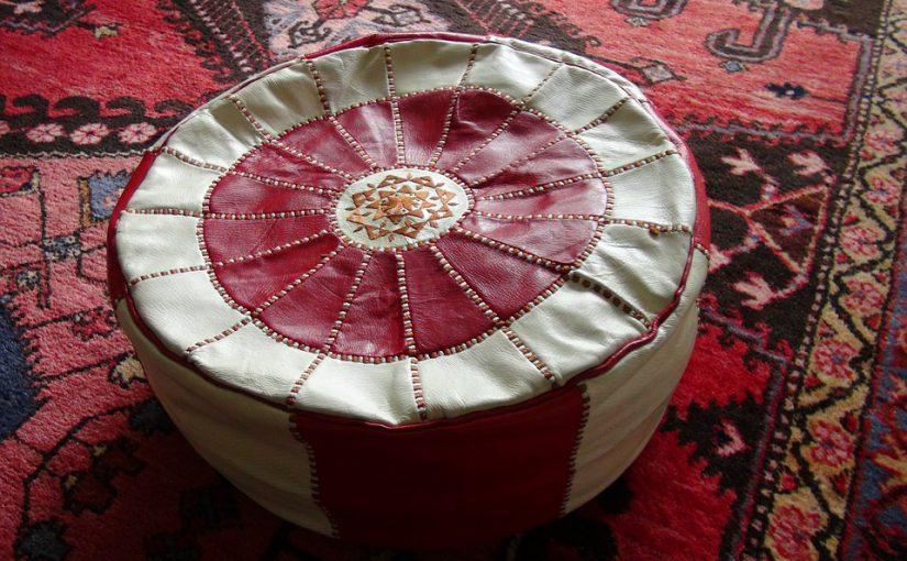Marokkaanse poef voor extra comfort in huis